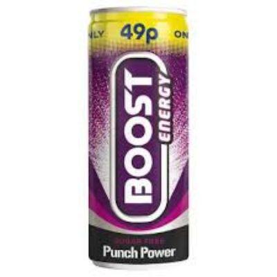 Boost Sugar Free Punch Energy 250ml