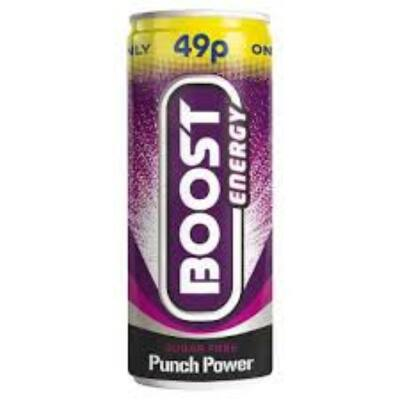 Boost Sugar Free Punch Energy 250ml