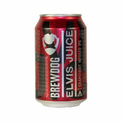 BrewDog Elvis Juice  (330ml dobozos, 6.5%)