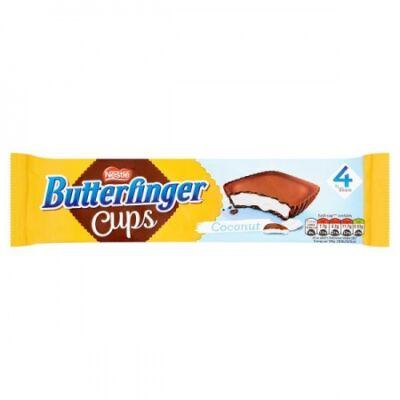 Nestlé Butterfinger Cups Coconut 4pk 86gr