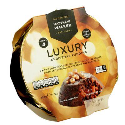Matthew Walker Luxury Christmas Pudding 400g