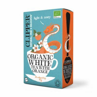 Clipper Organic White Tea with Orange (Fehér tea naranccsal)  26 db filter