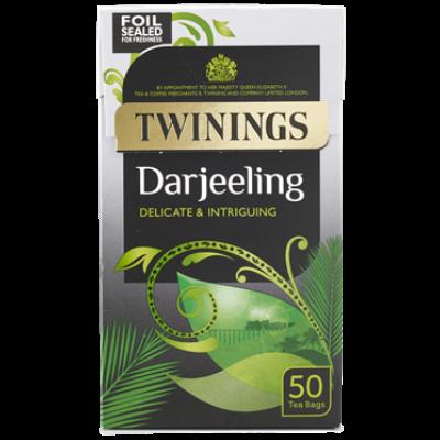 Twinings Darjeeling Teabags - 50 darab filter