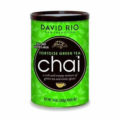 David Rio Tortoise Green Tea Chai 398g