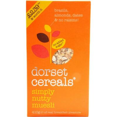 Dorset Cereals Simply Nutty 410g