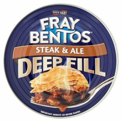 Fray Bentos Steak&Ale Pie (Húsos pite steak-kel és ale sörrel) 475g