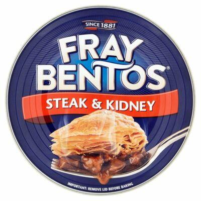 Fray Bentos Steak&Kidney Pie (Marhahúsos és vesés pite) 425g
