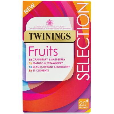 Twinings Gyümölcstea Válogatás 20 db filter