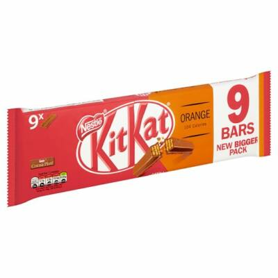 Kit Kat 2 Finger Orange 9pk