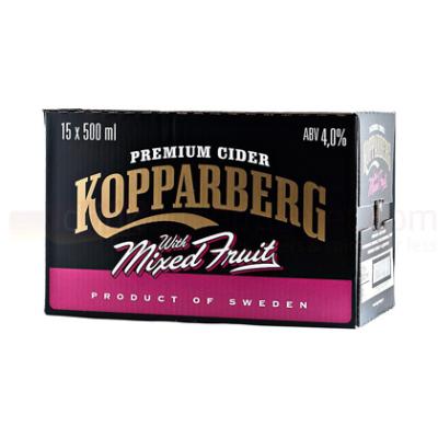 15x Kopparberg Mixed Fruit Cider 500ml