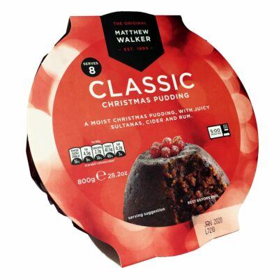 Matthew Walker Classic Christmas Pudding 800g