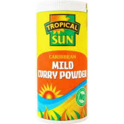 Tropical Sun caribbean mild curry powder 100g