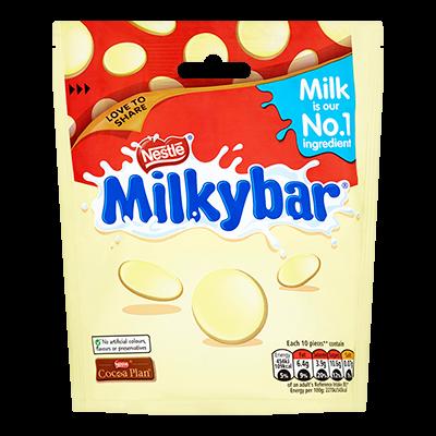 Nestlé Milkybar Pouch (zacskós kiszerelés) 103g