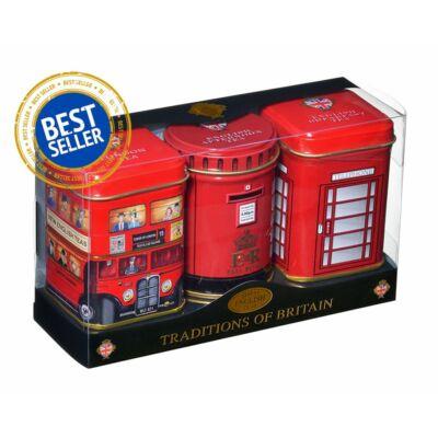 New English Traditions of Britain  - Fémdobozos teaválogatás