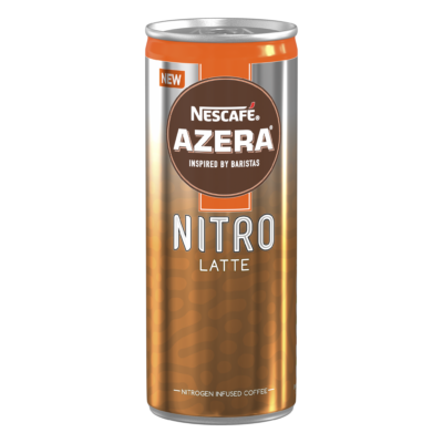 Nescafe Azera Nitro Latte Coffee 192ml