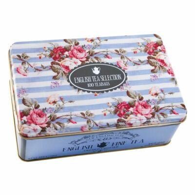 New English Teas - English Tea Selection - Fémdobozos Teaválogatás 100 db filterrel