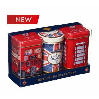 New English Teas - British Tea Selection - Fémdobozos teaválogatás