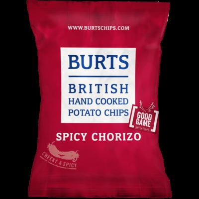 Burts Spicy Chorizo Chips 40g