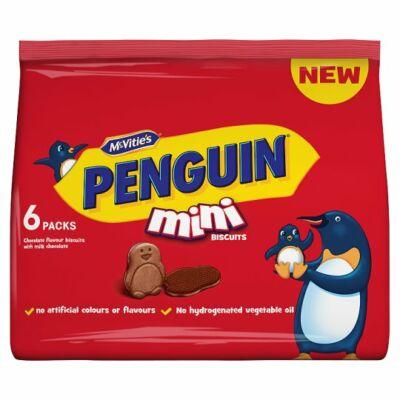 Mcvities Penguin Mini Biscuits 6x25g