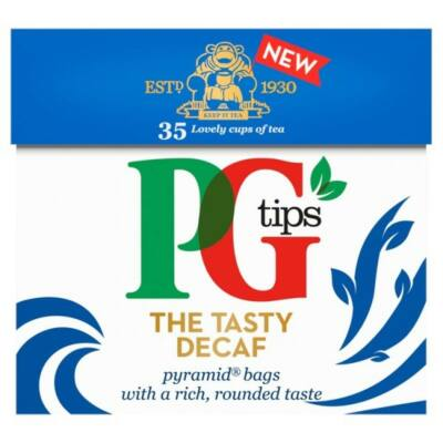 PG Tips Decaf Teabags (Koffeinmentes fekete tea) 35 db filter
