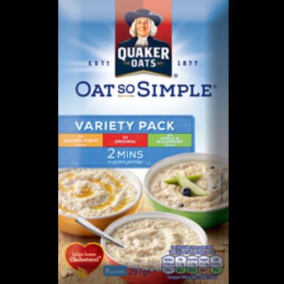 Quaker Oat So Simple Válogatás (9 instant tasak) 297g