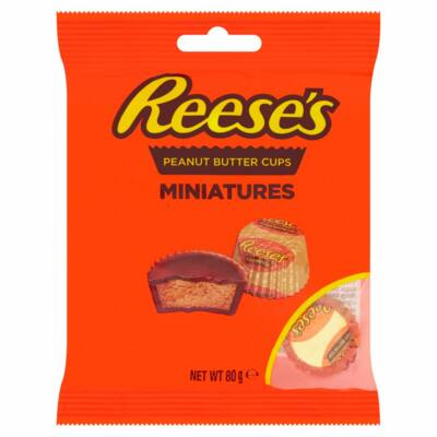Hershey's Reeses Mini Peanut Butter Cups 72g