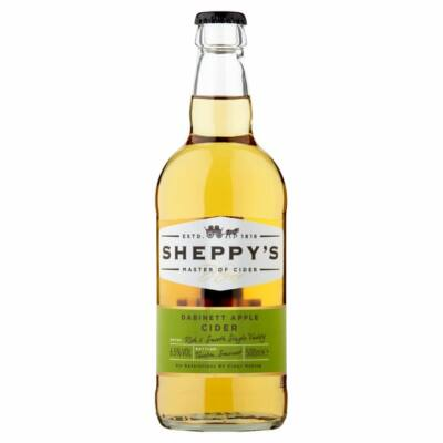 Sheppy's DABINETT Medium Cider (6.5%, 500ml)