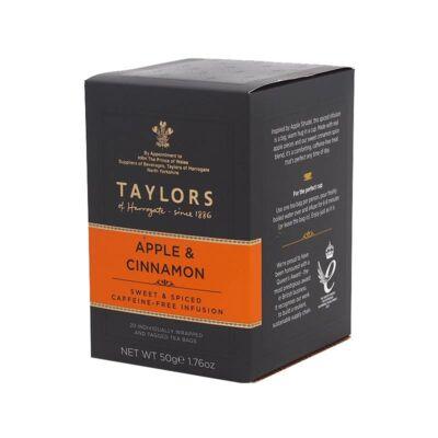 Taylors of Harrogate Apple and Cinnamon (Alma és Fahéj Tea)  20 db borítékolt filter