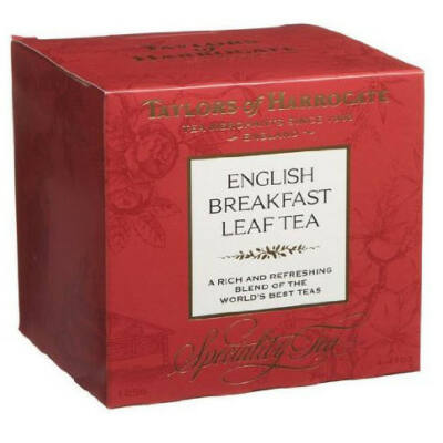 Taylor's Of Harrogate English Breakfast Leaf Carton Tea (Szálas angol Reggeli Tea) 125g