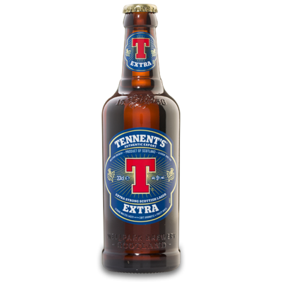 Tennent's Extra Strong Lager (9.3%, 330ml)