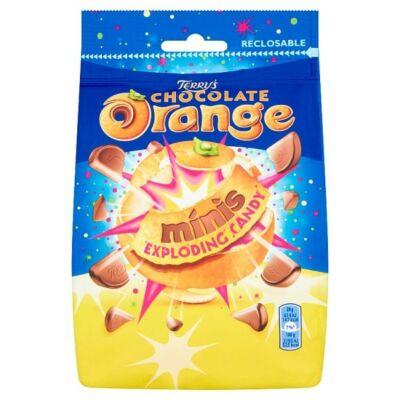 Terrys Chocolate Orange Minis Exploding Candy - Narancsízû mini tejcsokoládé pattogó cukorral 125g