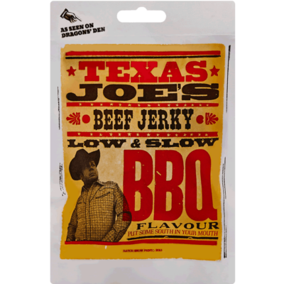 Texas Joe's Low & Slow BBQ Jerky 25g