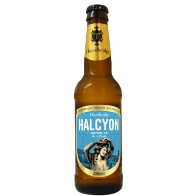 Thornbridge Halcyon Imperial IPA (7.4%, 330ml palackos)