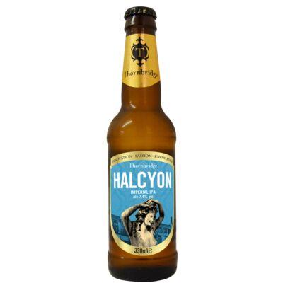 Thornbridge Halcyon Imperial IPA (7.4%, 330ml palackos)