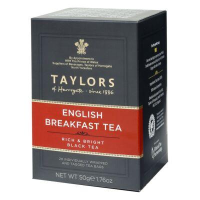 Taylors of Harrogate English Breakfast Tea Bags - 20db borítékolt filter