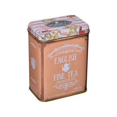 New English Fine Tea - English Breakfast (fémdobozos) 125g