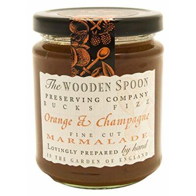 The Wooden Spoon Bucks Fizz Orange and Champagne Marmalade 340g