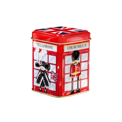Churchill's Mini Souvenirs – Telephone Kiosk 50g Fruit Bonbons