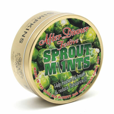 Simpkins Festive After Dinner Sprout Mints 200g