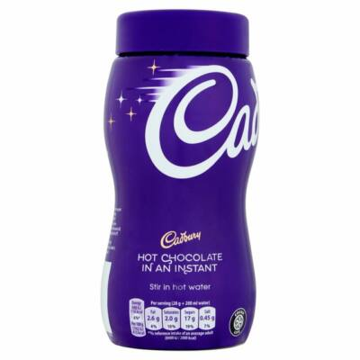Cadbury Instant Chocolate Break Hot Chocolate Jar 400g