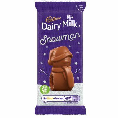 Cadbury Dairy Milk Mousse Snowman