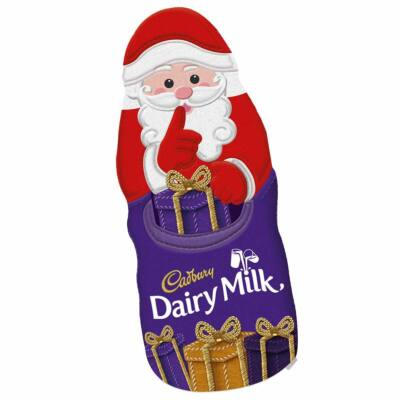 Cadbury Christmas Hollow Santa 45g - Csokimikulás