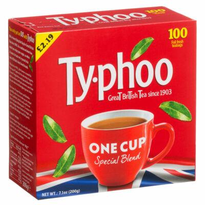 Typhoo fekete tea One Cup - 100 filter