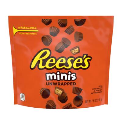 Reese's Minis Peanut Butter Cups (unwrapped) 215g