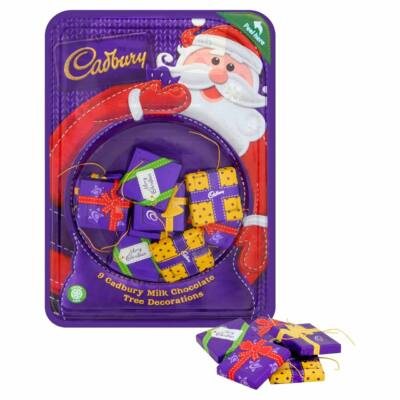Cadbury 9 Chocolate Tree Parcels 83g