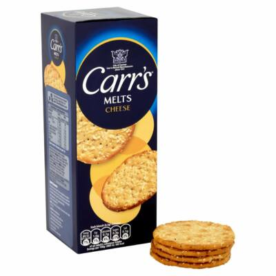 Carr's Cheese Melts 150g