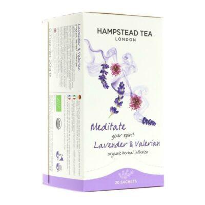 Hampstead Tea Organic Lavender & Valerian (bio levendula-valeriana) 20 db borítékolt filter