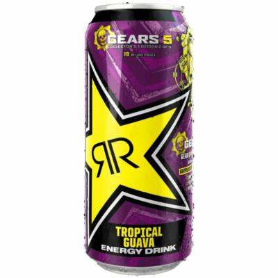 Rockstar Punched Guava Ltd Edt Gears 5 PM99p 500ml
