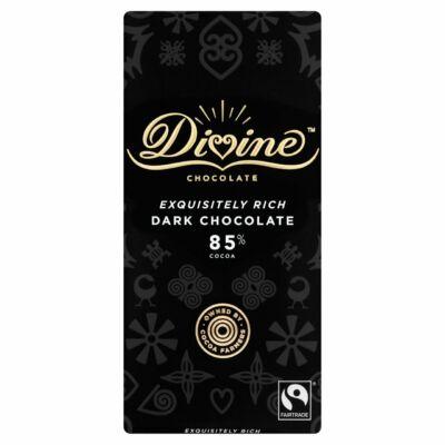 Divine 85% Dark Chocolate - étcsokoládé 90g