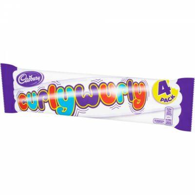 Cadbury Curly Wurly 4-es kiszerelés